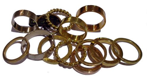 Vere, fedi e anelli in oro - Mario Inverardi