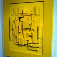 Pannelli - Rilievi giallo - Mario Inverardi