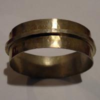 Bracciale - Argento - Rigido con inserto