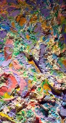 Pannello decorativo - Graffi colorati n. 1