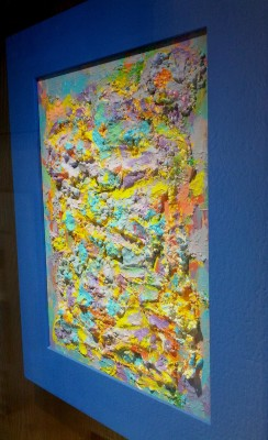 Pannello decorativo - Graffi colorati n. 3